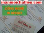 Công nghệ in offset cho in name card, danh thiếp, card visit
