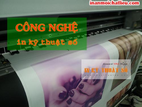 In kỹ thuật số poster, banner tại Công ty TNHH In Kỹ Thuật Số - Digital Printing