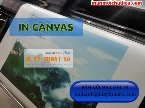 In canvas giá rẻ Bình Thạnh tại Công ty TNHH In Kỹ Thuật Số - Digital Printing