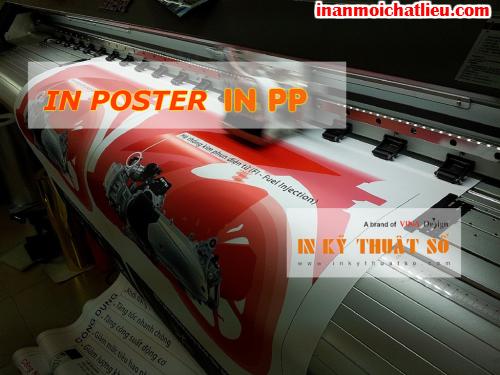 In poster PP tại Công ty TNHH In Kỹ Thuật Số - Digital Printing
