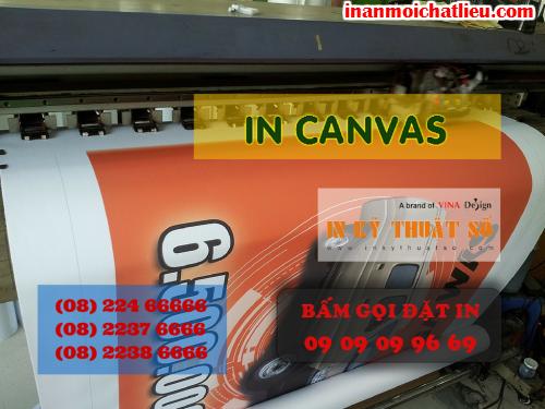 In tranh canvas giá rẻ tại Công ty TNHH In Kỹ Thuật Số - Digital Printing