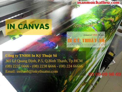 In tranh treo tường khổ lớn tại Công ty TNHH In Kỹ Thuật Số - Digital Printing