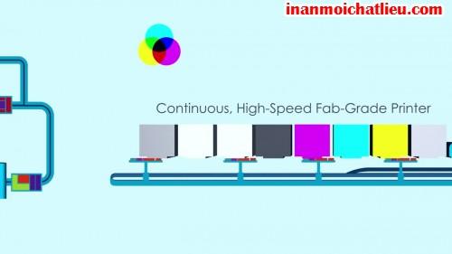 Hệ thống in 3D siêu tốc HSFG (High Speed Fab Grade Printing)